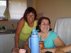 Con Amalia, mi hermanita..año 2008