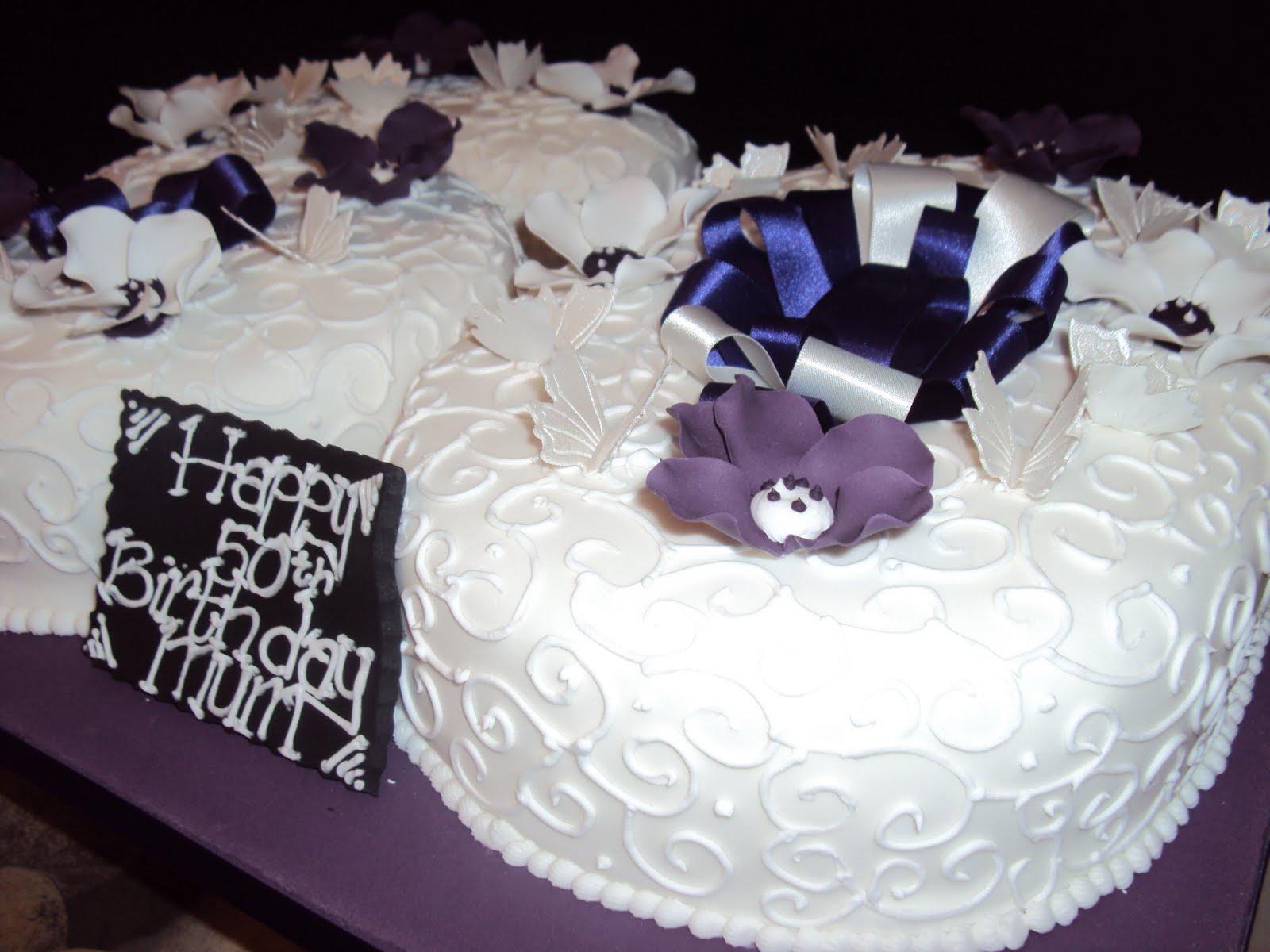 turning 50 cake ideas