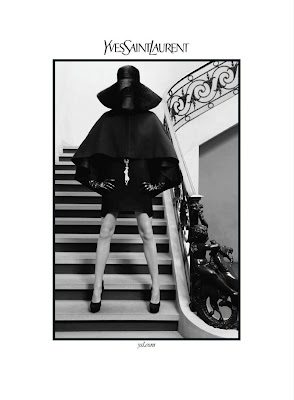 Yves Saint Laurent AD Campaign Fall 2010 by Inez van Lamsweerde and Vinoodh Matadin