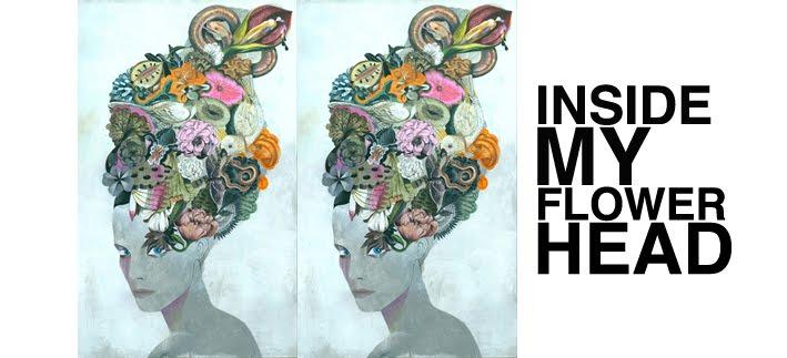 inside my flower head