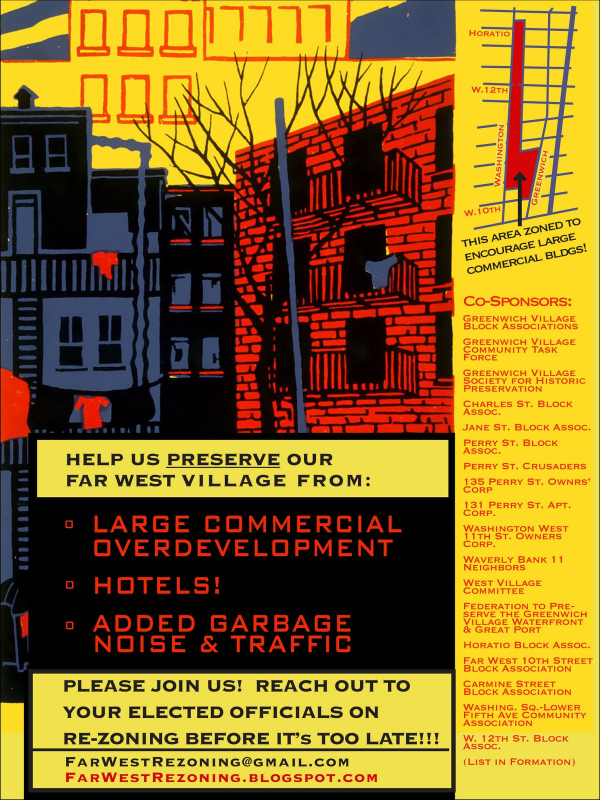 Far West Rezoning Poster
