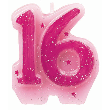 16 Birthday Cake Number Candles