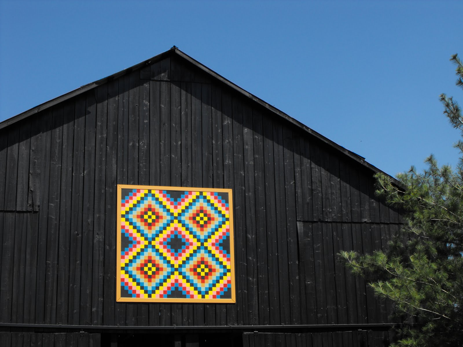 Quilt Patterns On Barns In Ky : Barn Quilts and the American Quilt Trail: Kentucky Memories