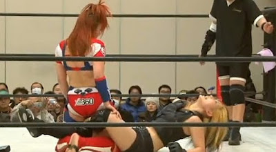 Kana - Mio Shirai -japan women-womens wrestling