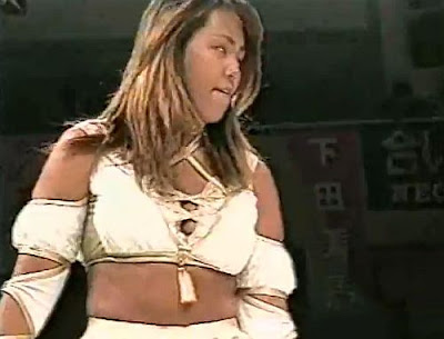 Etsuko Mita - japanese women wrestling