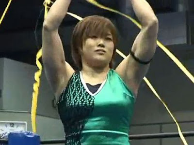Tomoka Nakagawa - female wrestling youtube