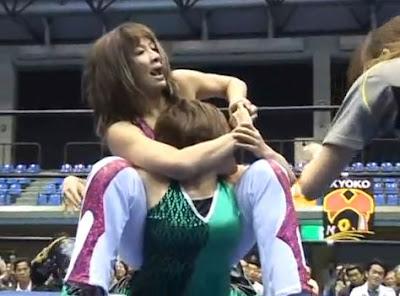 Tomoka Nakagawa - Mima Shimoda - japanese wrestling
