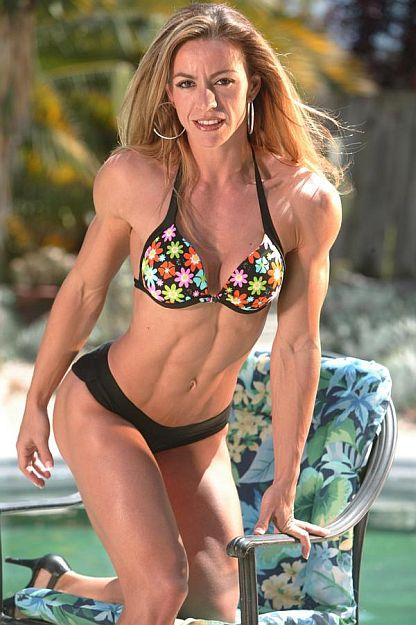 Womens bodybuilding fitness figure