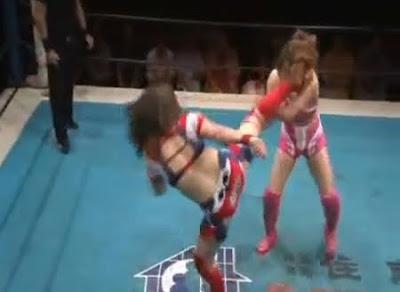 Kana - Chihiro Okawa - female wrestlers