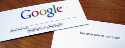 Google нэрийн хуудас