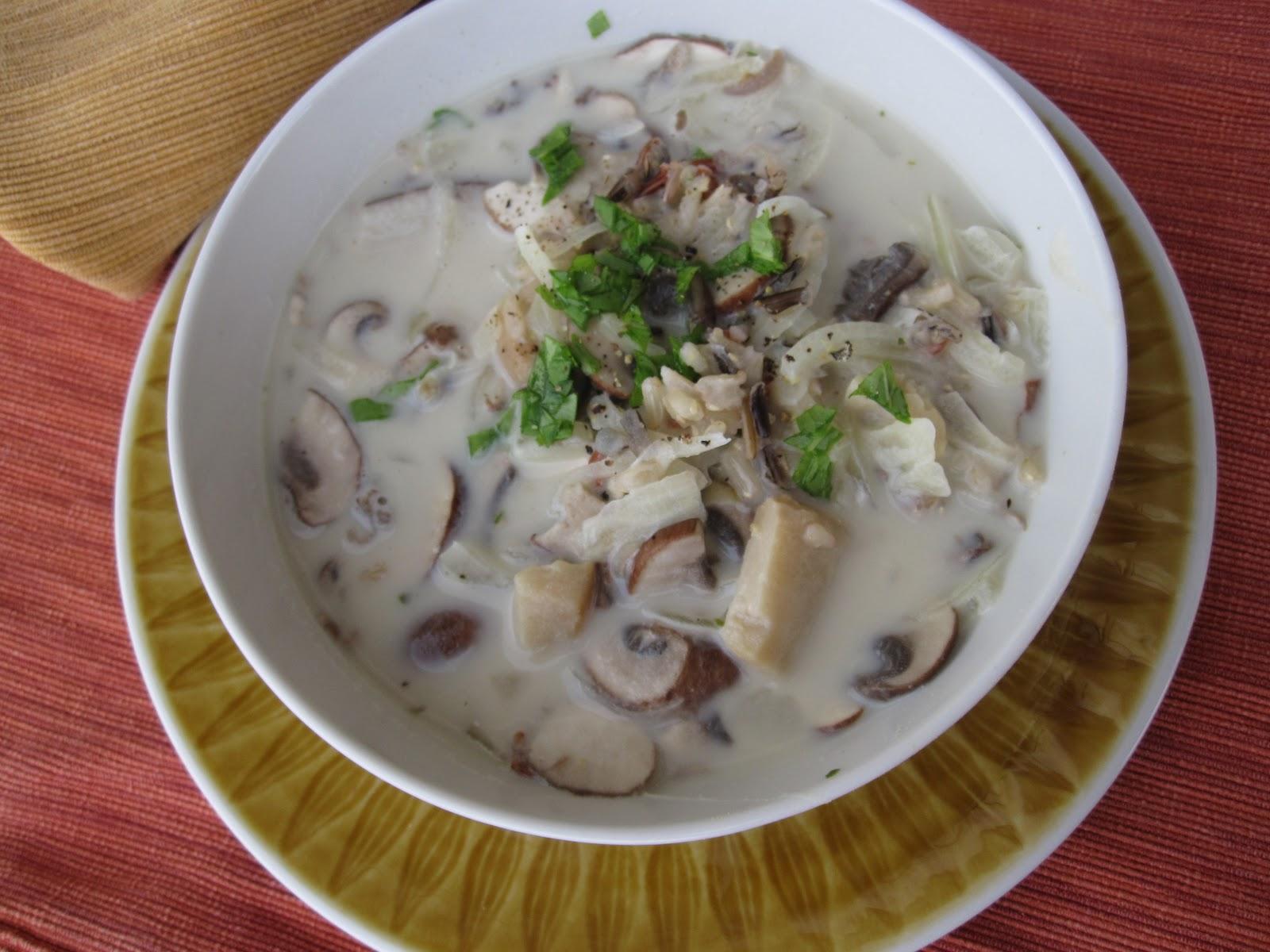 ... wild rice mushroom wild rice mushroom soup chicken wild rice soup with