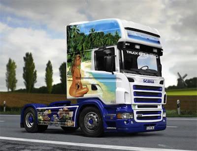 Фото грузовика Scania