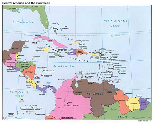 Gacekblog Geo Quiz 29 Central America and Caribbean Capitals