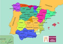 Peta Spanyol
