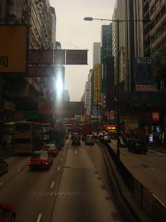 Shots of Kowloon Island Trip:Street View at Tsim Sha Tsui @ Kowloon