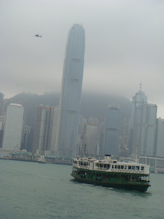 Memorable Journey to Land of Hong Kong:Copter resting in the Sky@ Hong Kong