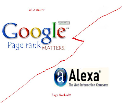 Alexa Vs Pagerank