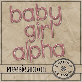 http://lauriesscraps.blogspot.com/2009/04/baby-girl-kit-alpha.html