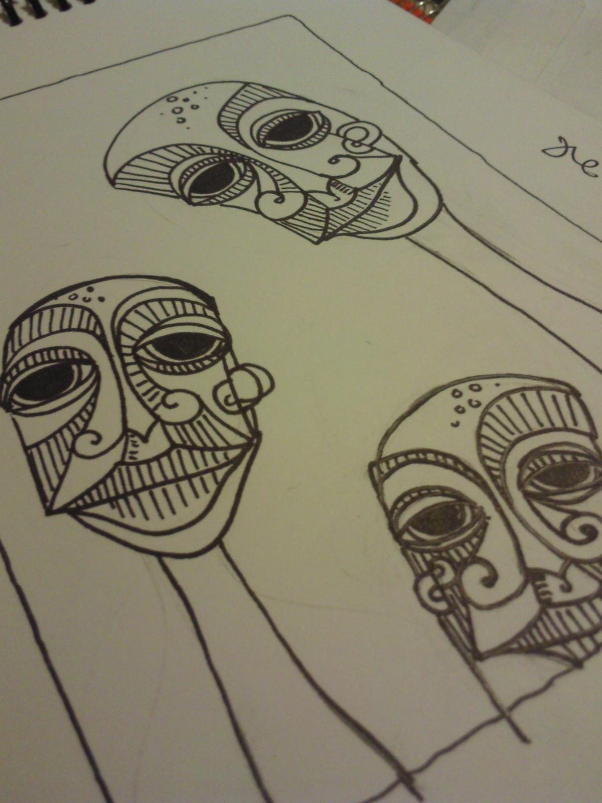 carrie ellen art studio drawing ideas