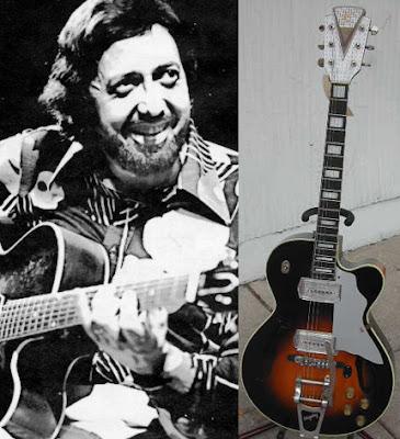 Barney Kessel - 1950's Kay guitar