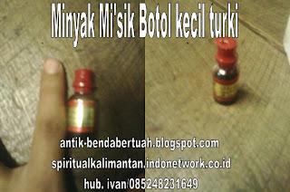 Minyak Misik Botol Kecil Turky