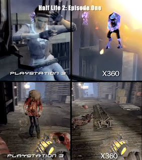 PS3 vs Xbox360 Graphics Comparison