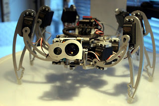 6 Legged Robot Crawler