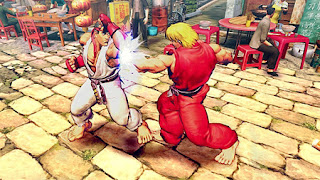First Street Fighter 4 Gameplay