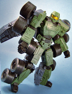 Master chief cum halo transformer