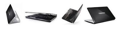 New laptops by Toshiba satellite