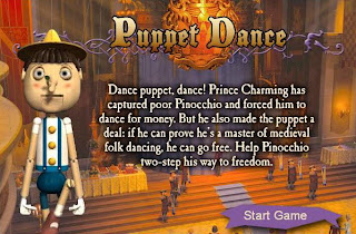 Shrek: Puppet dance (Free online game) | Free online movies games