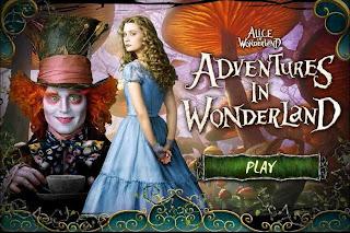 play alice in wonderland games online