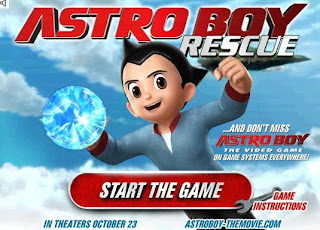 astro boy games free online play