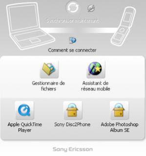 Télécharger Sony Ericsson PC Suite