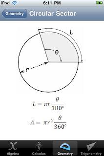 Faciliter le Mathématique avec « iFormulas » pour iPhone