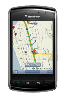 Trapster : Un avertisseur de radars pour votre téléphone BlackBerry