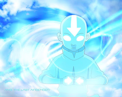 Avatar Aang in the avatar state