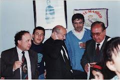 """Inauguración Peña Madridista """"LA PESCOZANA """" el día 24-04-1993 por el Sr. ROUCO"""