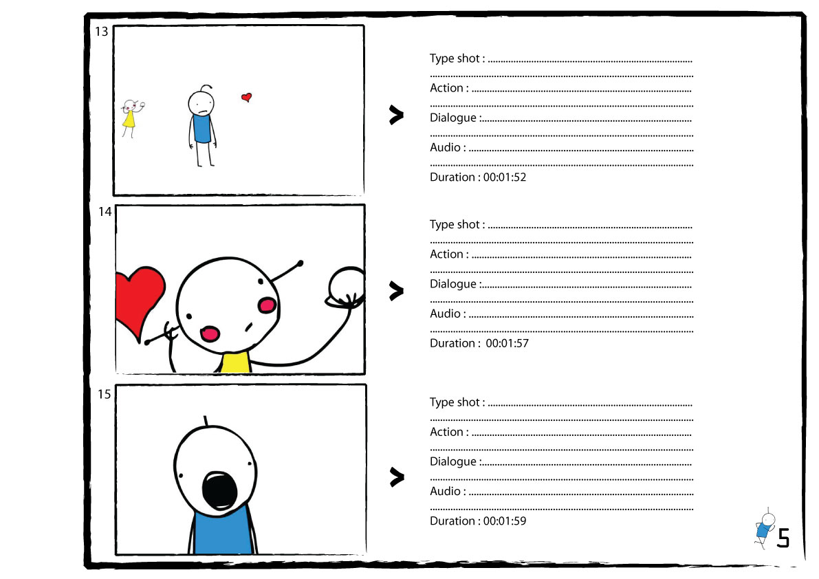 Animation for life clean up storyline for This is your life template