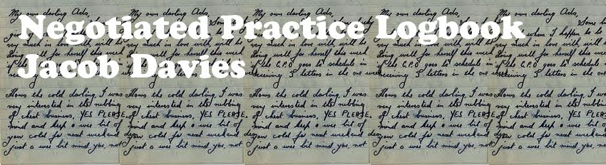 Negotiated Practice logbook Jacob davies