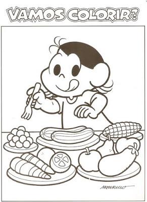 Digitalizar0004 Alimentação com a Turma da Mônica para crianças