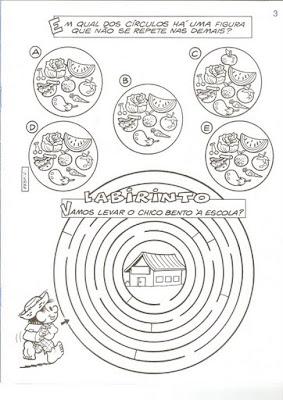 Digitalizar0002 Alimentação com a Turma da Mônica para crianças