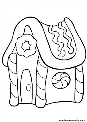 natal 154 Para colorir Natal para crianças