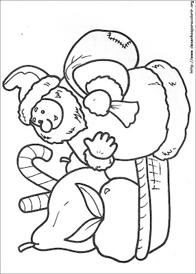 natal 90 Para colorir Natal para crianças