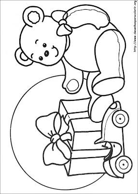 natal 92 Para colorir Natal para crianças