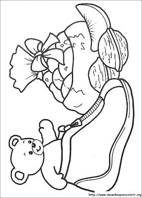 natal 96 Para colorir Natal para crianças