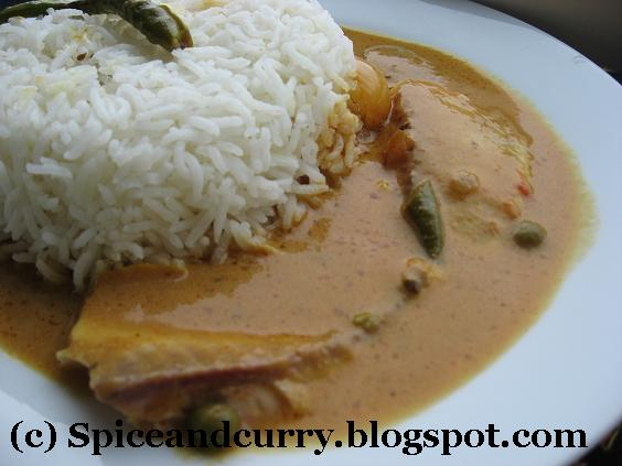 Spice and Curry: Oven Baked Tilapia in Coconut milk and Tomato Sauce