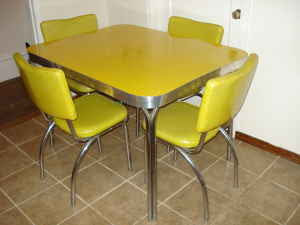 Window shopping and kitchens the common room - Table cuisine formica annee 50 ...