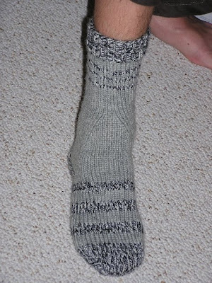 another picture of the grey sock