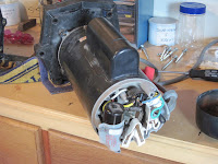 My Hayward Pump Motor (Rear Cover Off)